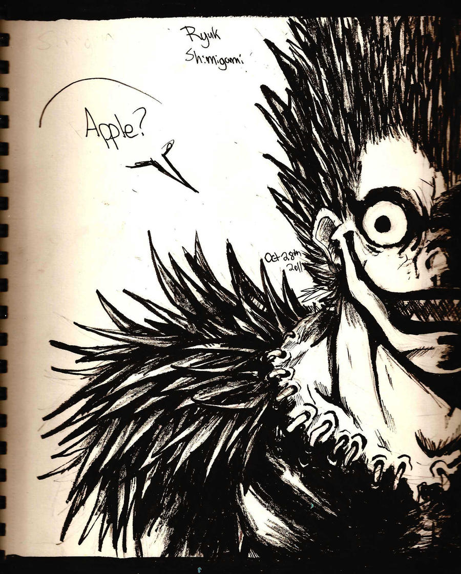 Ryuk the Shinigami by SamColwell on DeviantArt