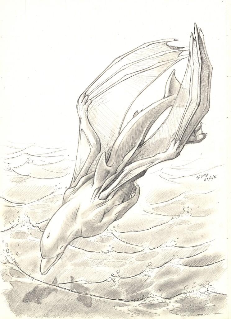 Dracophin dive by Alessio-Scalerandi