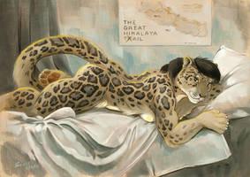 Great Hymalaya Tail by ScalerandiArt