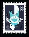 Stamp - Jack frost