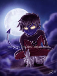 Nightcrawler Chibi by ryodita
