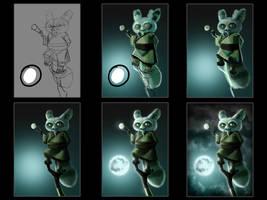 Master Shifu Steps by ryodita
