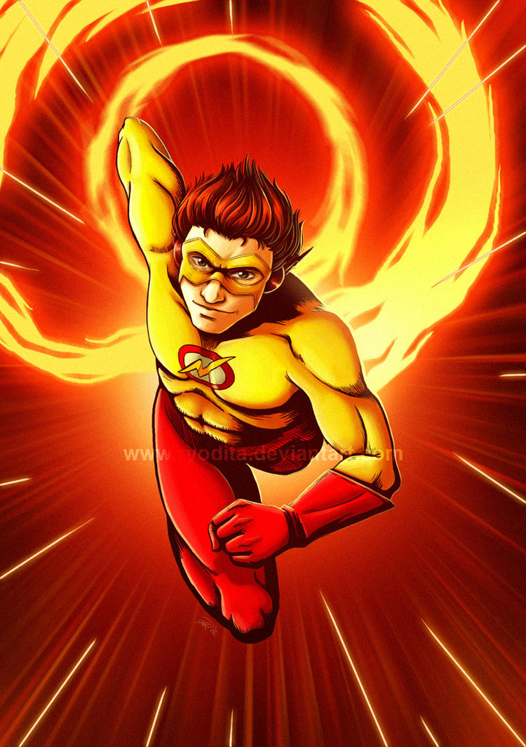 Kid Flash by ryodita