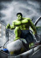 Avenge-a-thon: Hulk by ryodita