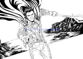 Avenge-a-thon: Bonus-Loki (LINES) by ryodita