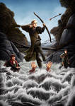 Shut up dwarf! I am saving you! by ryodita