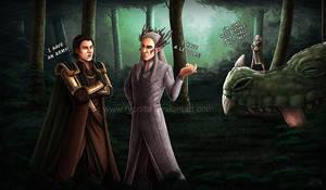 Elvish Nonsense (Part3) - I have an army by ryodita
