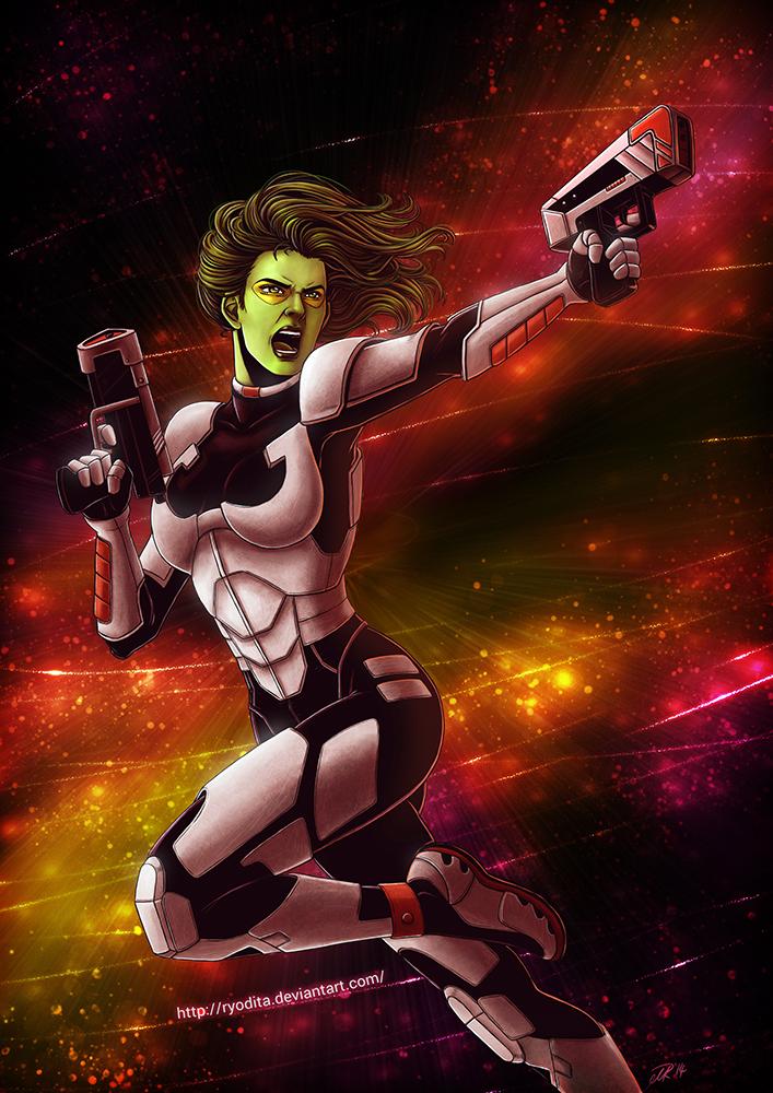 Gamora by ryodita