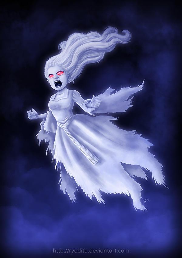 Monsterama: Banshee by ryodita