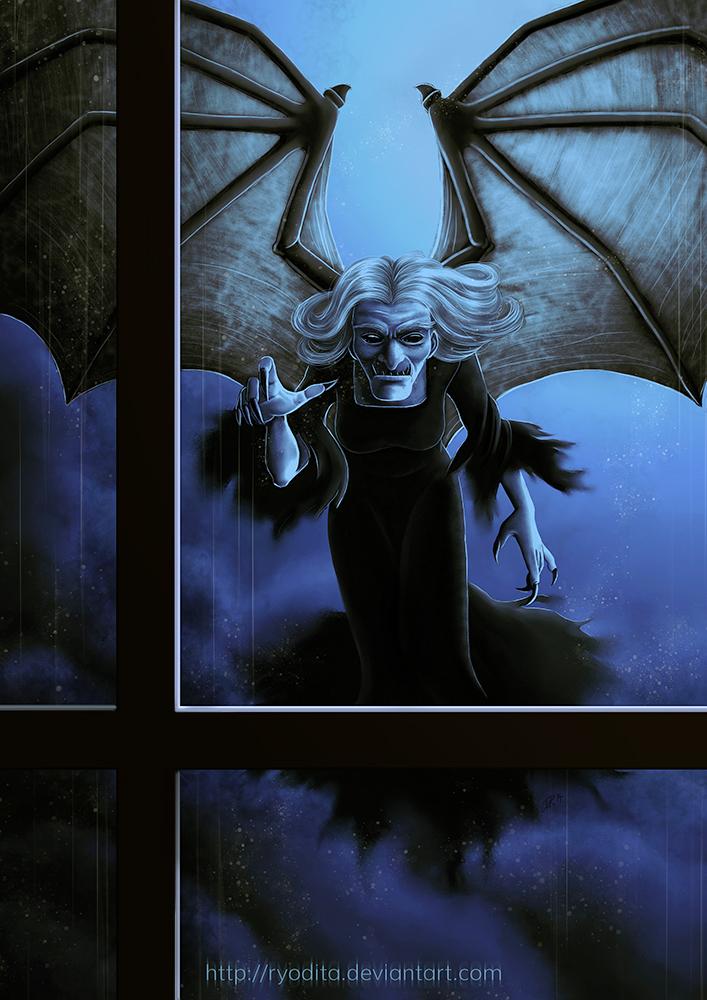 Monsterama: Gwrach y rhibyn by ryodita