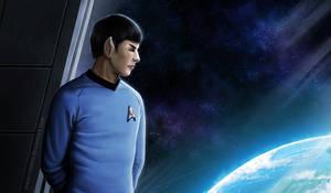 Tribute to Mr. Spock by ryodita