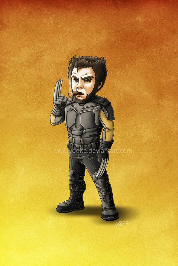 Mini-Wolverine by ryodita