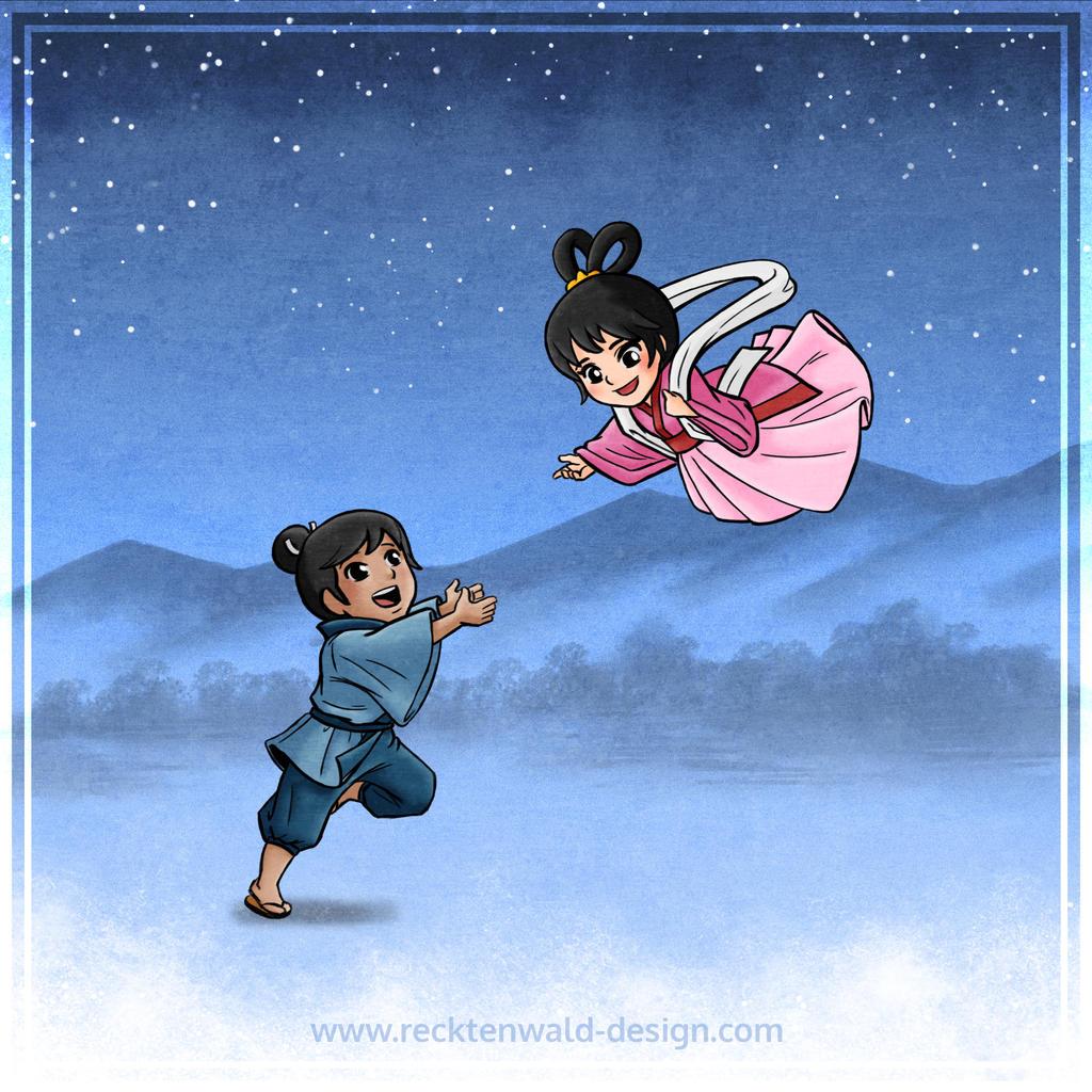 Orihime and Hikoboshi by ryodita