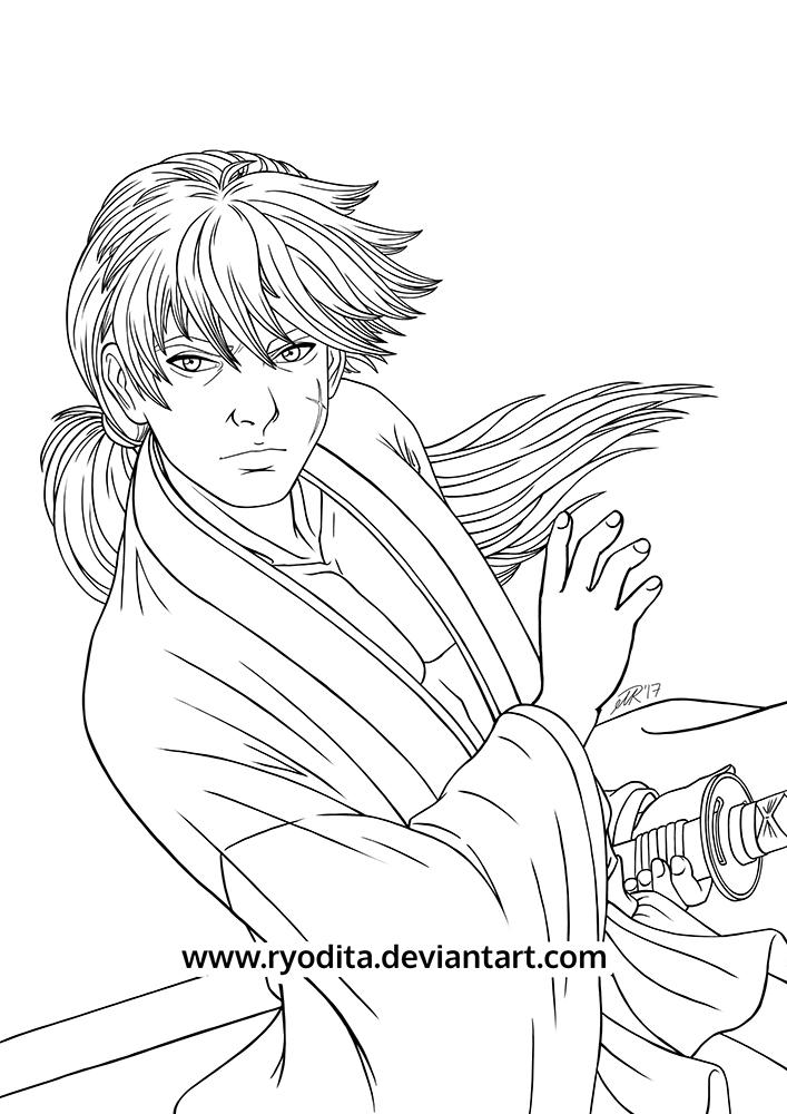 Kenshin Sketch by ryodita