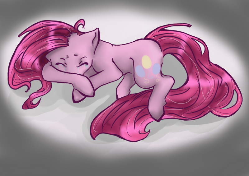 Sleep well Pinkamena by texuguim