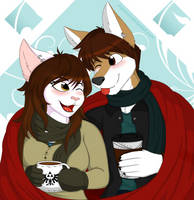 With the Love of my Life by FoxRaver