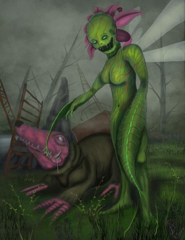 Flouna demon by Twistedpr3lude