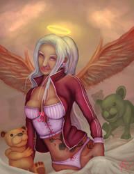 Millenial-angel by Twistedpr3lude