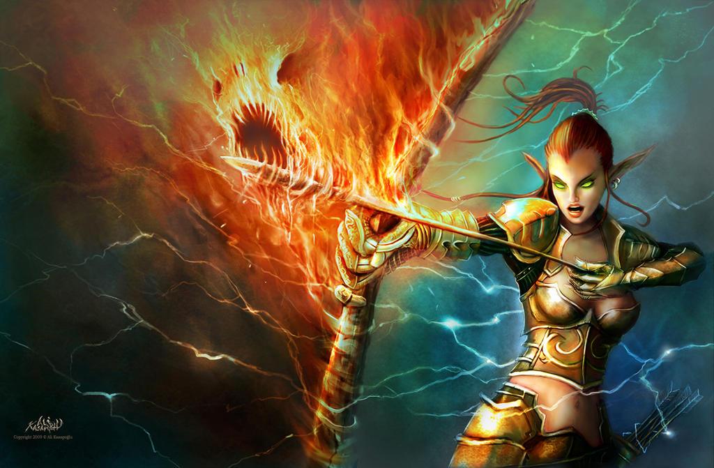 Ateş Okçusu