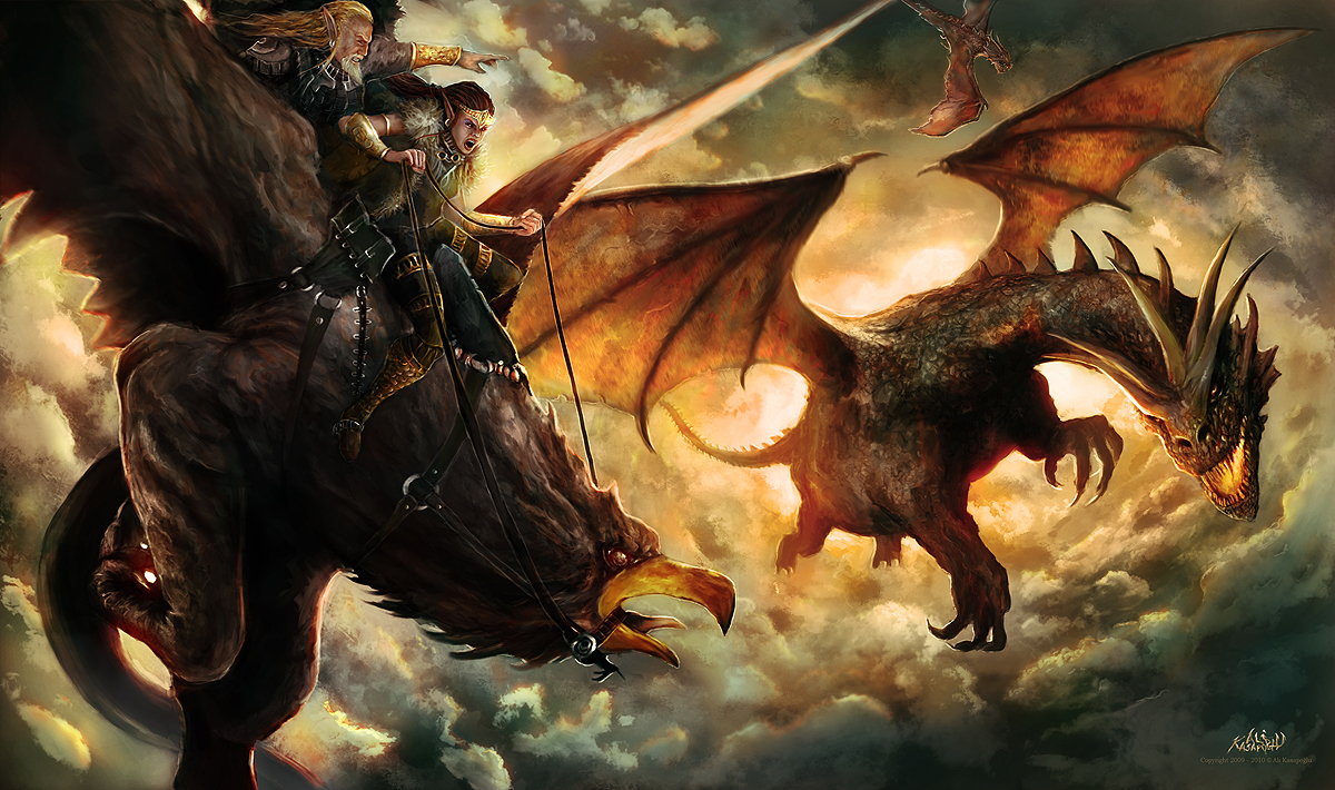 Green Dragon Lord Of The Rings Novel