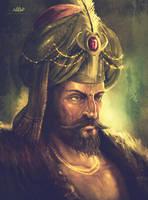 Sultan Mehmed II by alikasapoglu
