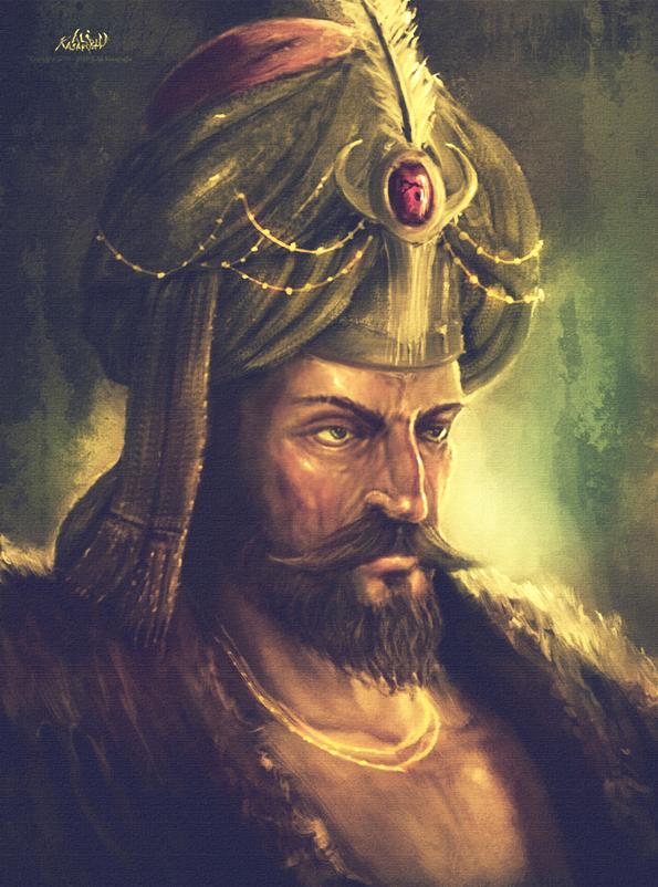 Ottoman Empire Sultan Sultan Mehmed II by al...