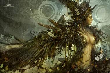 Jenny Wren by alikasapoglu