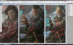 timeline painting for just a face..