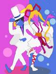 Kaitou Jeanne and Kaitou Kid