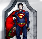 Superman and Damian