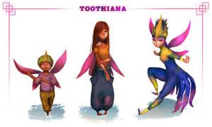 Toothiana Through Time