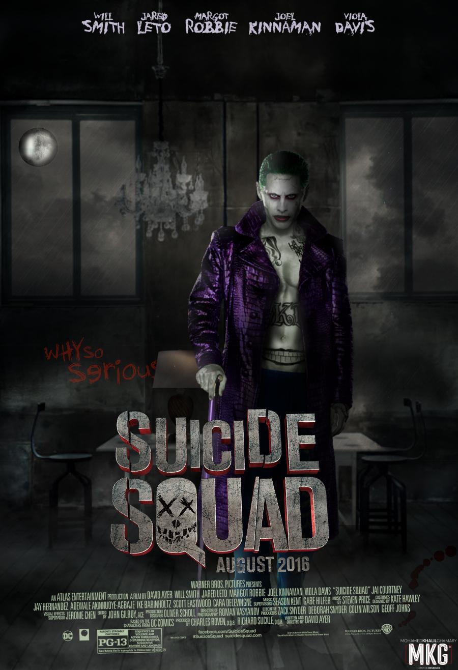 Suicide Squad - Movie Poster by KhalilGhamaryMKG on DeviantArt