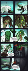 Liza and Tablet of Time Page 3 by xMonsterGirlsHideout