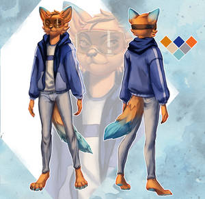 Furry Ref Sheet Commission