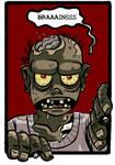 Zombies Calling - t-shirt 03