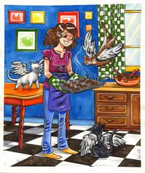 Magical Baking by damnskippy