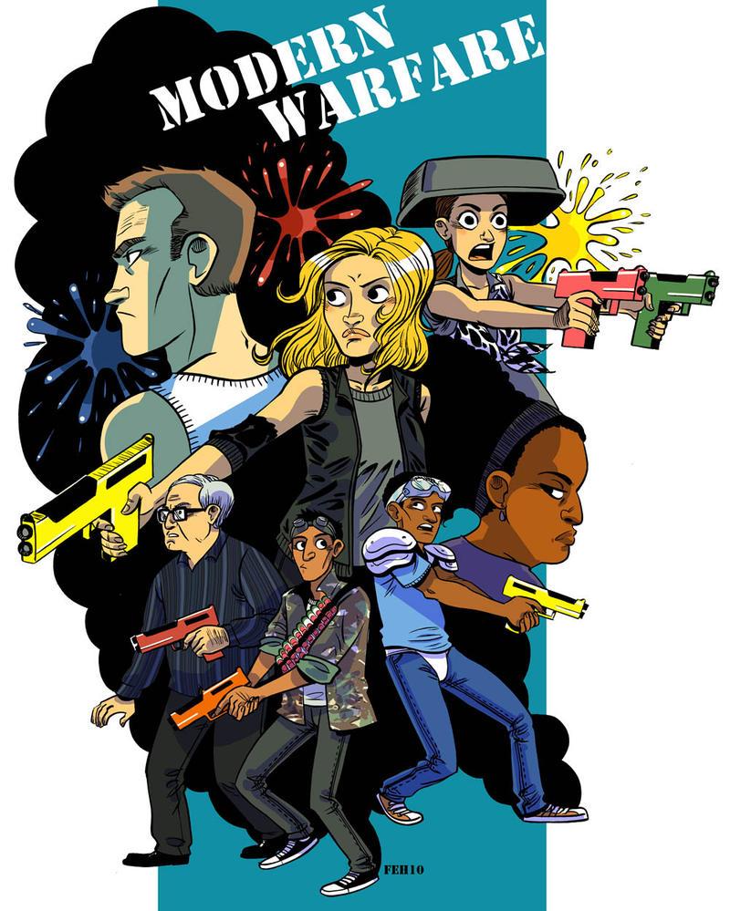 Community: Modern Warfare by damnskippy