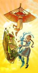 Avatar: The Last Airbender by damnskippy