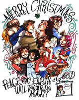 Merry Christmas by damnskippy