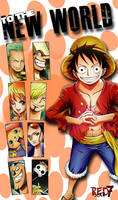 Strawhats Go to New World