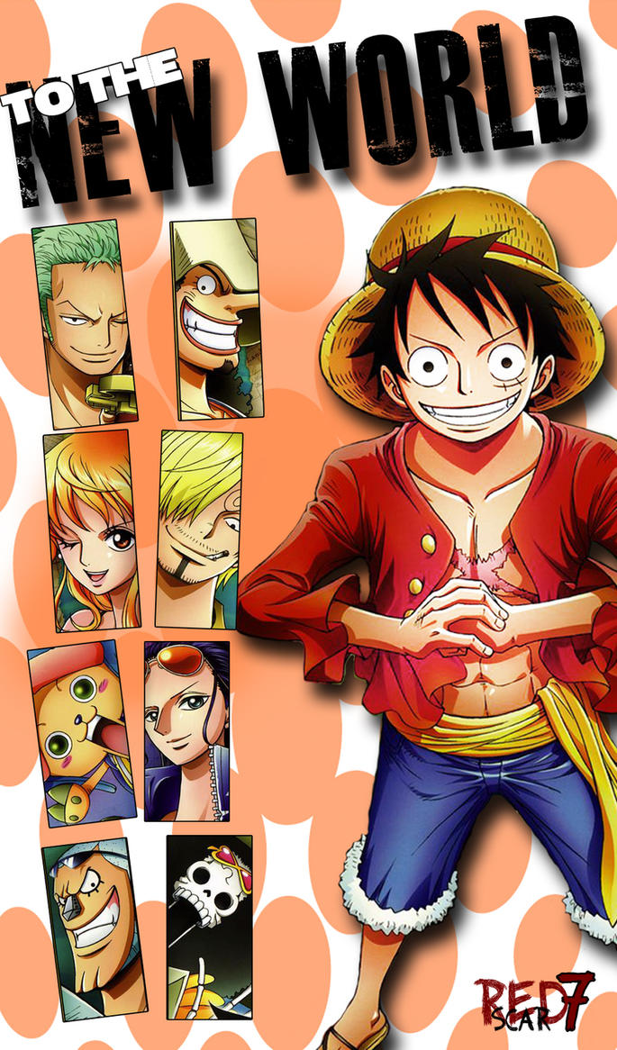 Strawhats Go To New World By One Piece Chibi Wallpaper