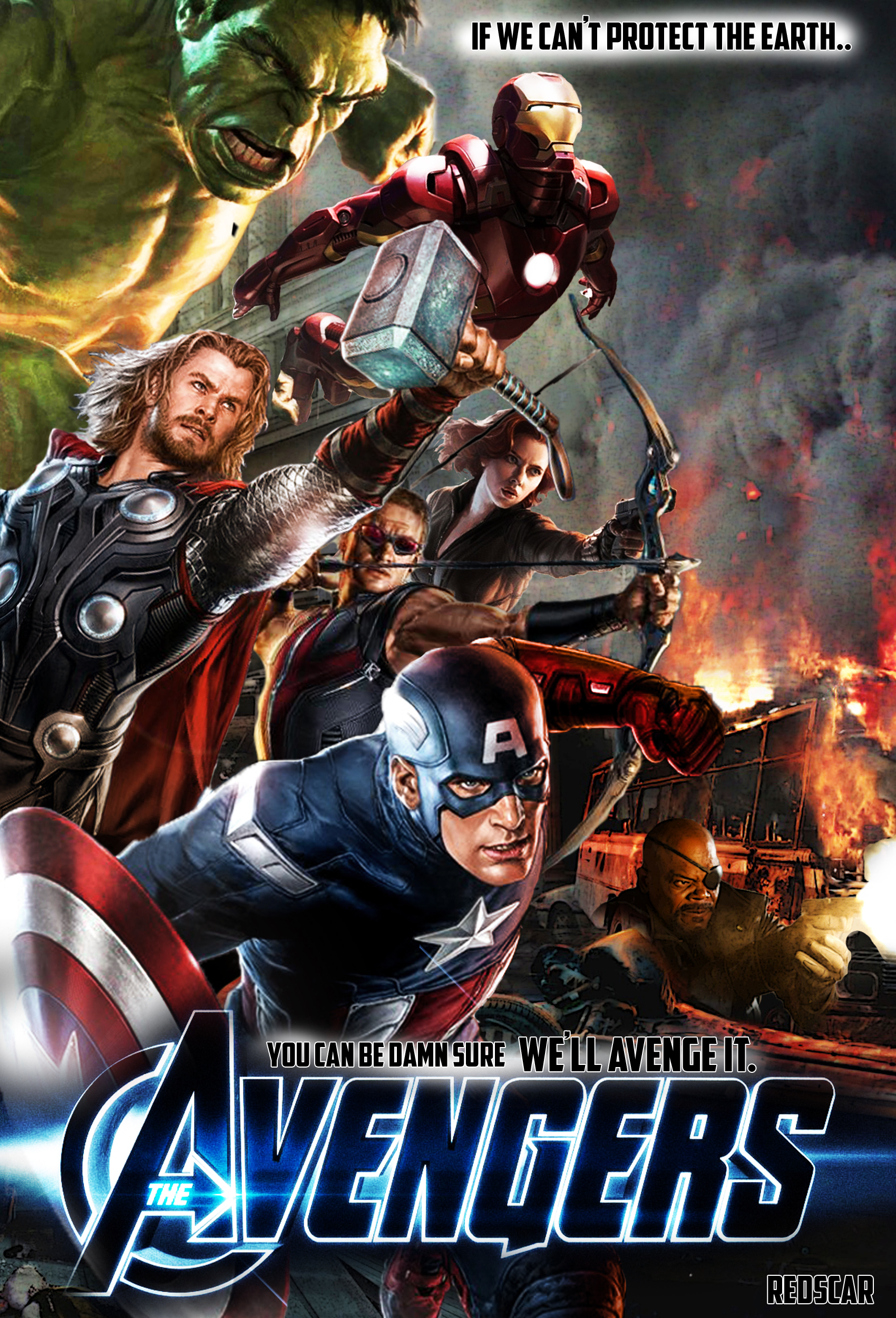 The Avengers - unofficial by RedScar07