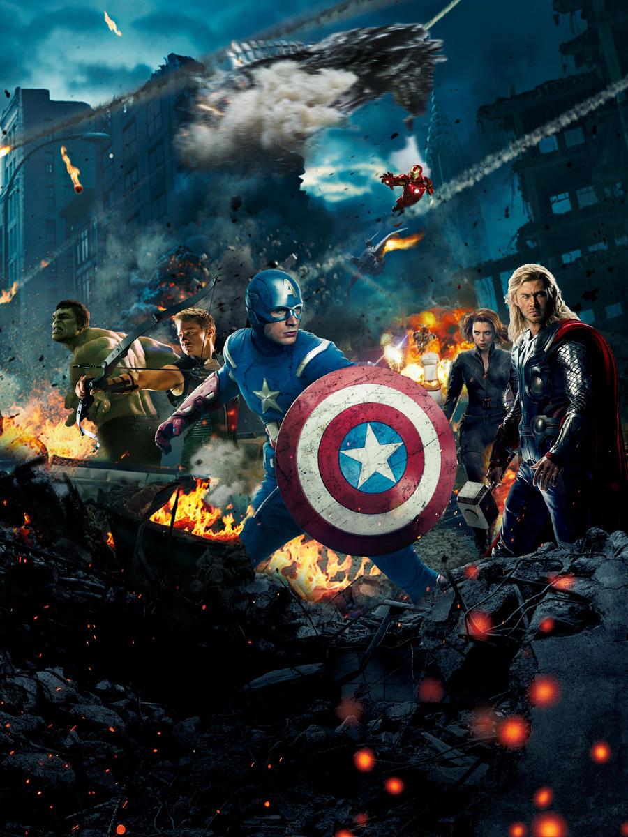 The Avengers Poster (v2)
