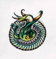 Serperior Mandala by BluHiroo