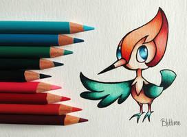 Pearl the Pikipek by BluHiroo