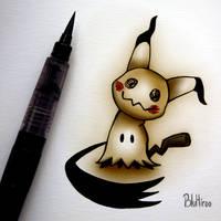 Mimikyu by BluHiroo