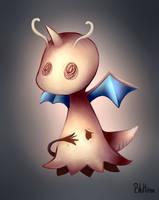 Mimikyu the Dragonite by BluHiroo