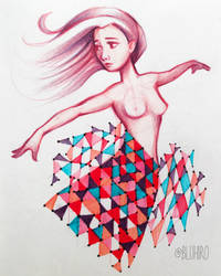 Fragmentation by BluHiroo