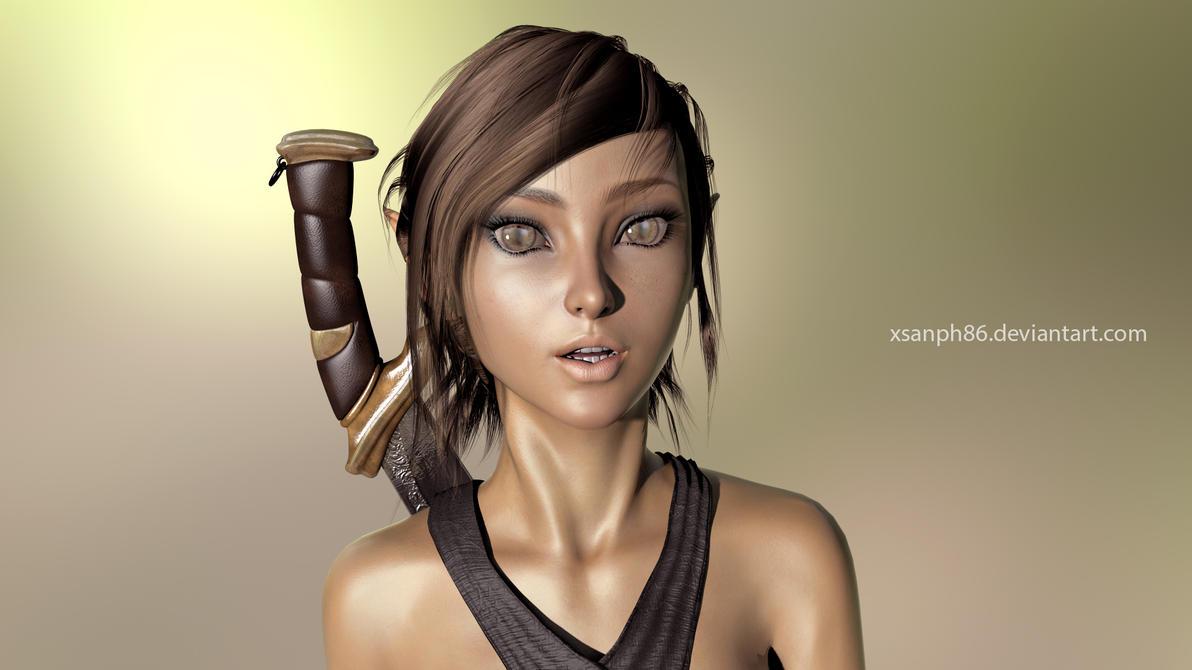 Elvian Girl by Xsanph86