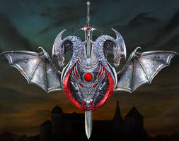 Dragon Symbol by MG-Airbrush